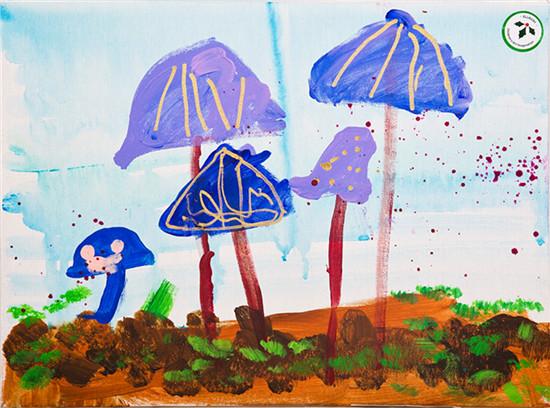 张嘉莹油画展即将开幕 邀您共赏四岁半孩子笔下的梦幻世界