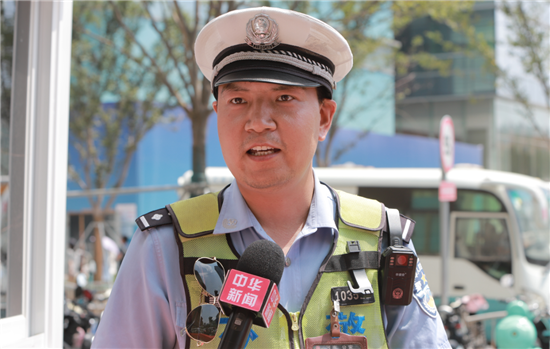 【益路华彩·清凉行动】郑州济民中医院不忘初心 守护交通警察的健康