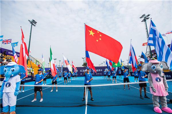 """WTA顶级赛事""""郑州网球公开赛""""开幕!可蓝高盖水荣膺唯一指定用水!"""