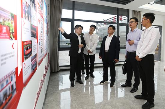 郑州市委统战部调研指导中华网河南频道新的社会阶层人士统战工作