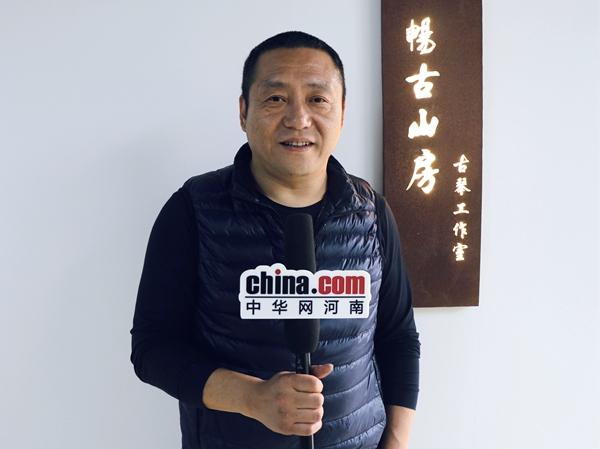 传承人王栋:三年斫一琴 千年古琴梦
