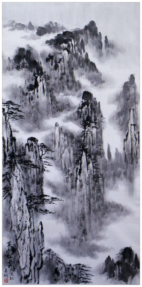 中国著名画家吴优山水画展将于12月23日开幕!