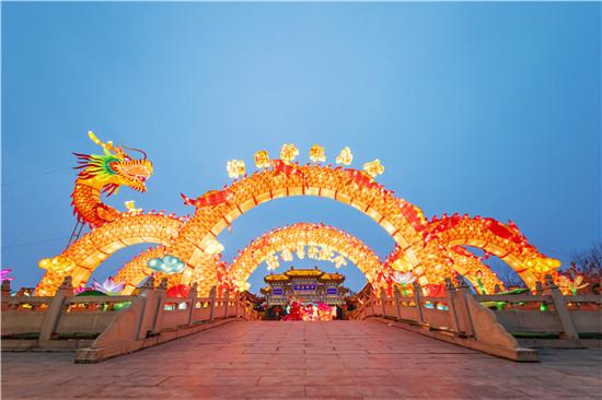 中国翰园:祭祖庙会、璀璨灯会……浓浓年味儿喜迎春!