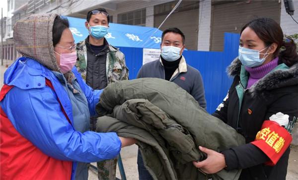 正阳县永兴镇:疫情无情人间有爱 多方捐助共抗疫情