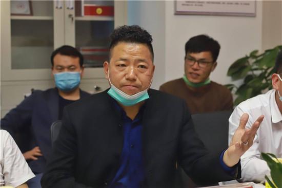 增进交流、共谋发展 郑州市中小企业协会走访调研河南福晟智能装备有限公司