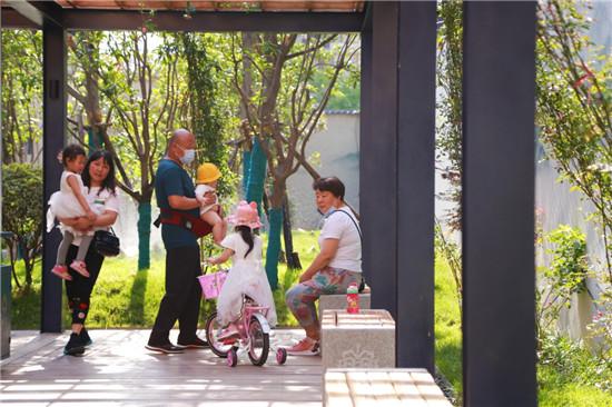 【郑在蝶变】二七区淮园:喧嚣市区的幽静一角,小公园改善大环境获市民点赞