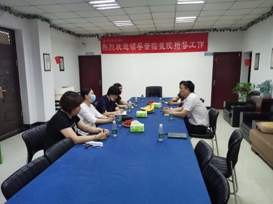 靳淑娥到郑州济民中医院调研医养结合工作