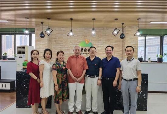 河南省营养保健协会秘书长薛辉参观考察西藏合谷元青稞营养开发有限公司郑州体验中心