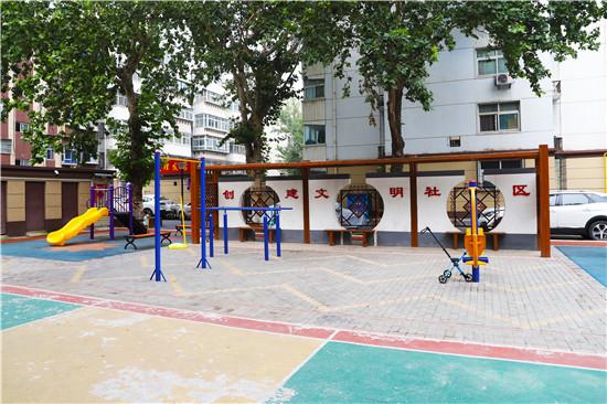 """【郑在蝶变】化纤厂小区:老院换新颜 让群众感受到""""家""""的舒适"""