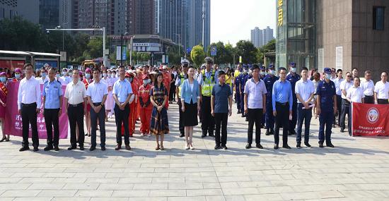郑州市统一战线开展第六届益路华彩系列公益活动