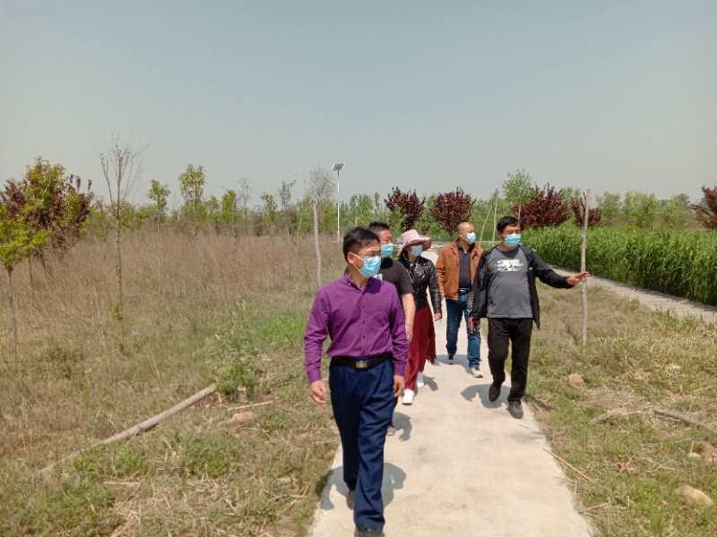 新密市大隗镇老耆沟村和河南正耆生态农业有限公司举行生态农业投资开发签约仪式