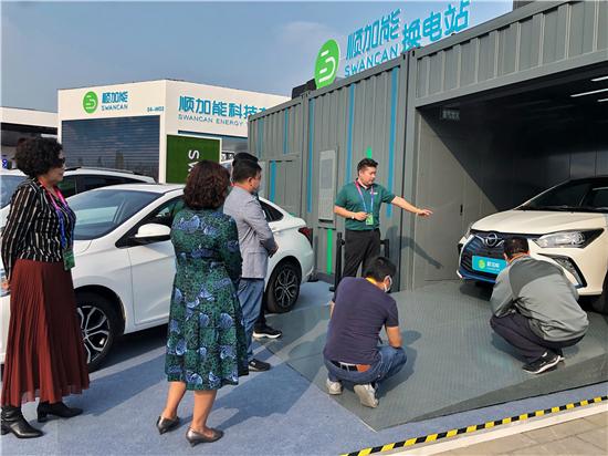 顺加能亮相第16届北京国际汽车展览会 三分钟撬动换电新机遇