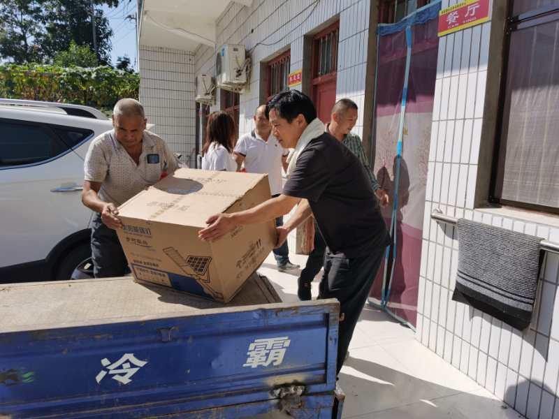 郑州市市场监管局联合三全食品公司助力美丽乡村建设