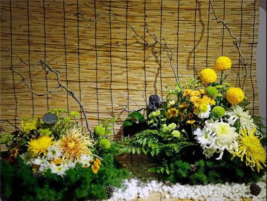 第六届翰园情菊花插花大赛精品展将于10月18日在中国翰园碑林开幕
