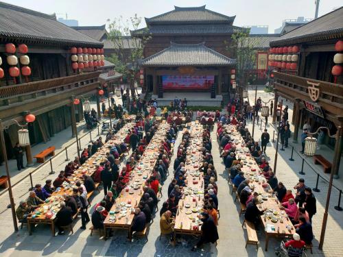 爱在重阳!新密市蒋坡村:喜迎重阳节 敬老饺子宴